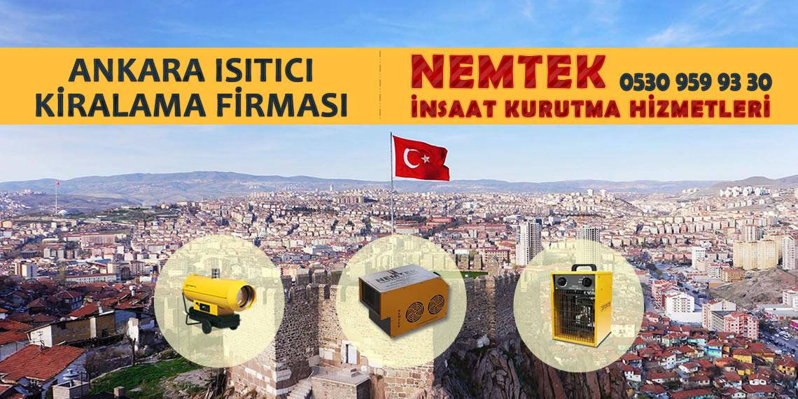 Ankara Isıtıcı Kiralama Firması