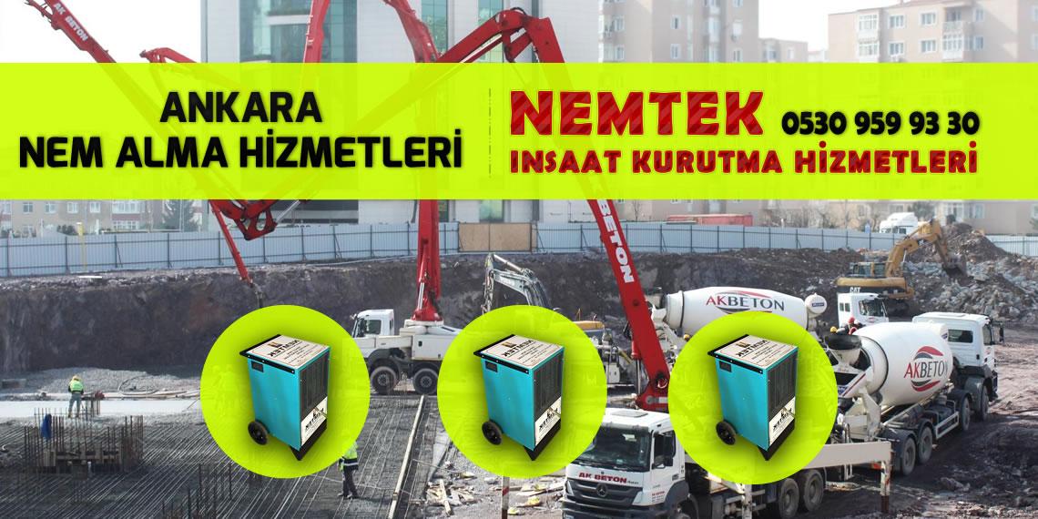 Ankara Nem Alma Hizmetleri