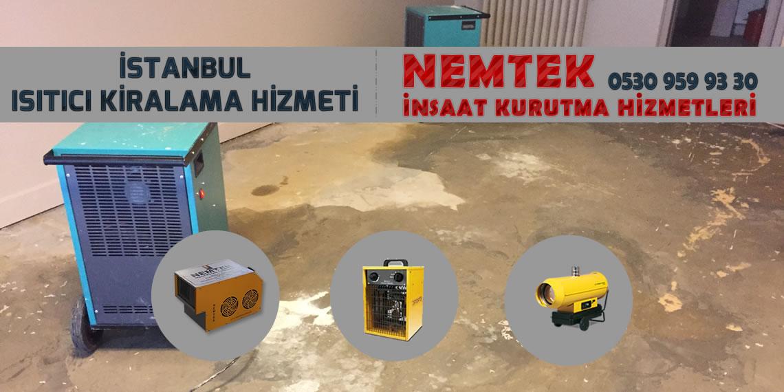 İstanbul Isıtıcı Kiralama Hizmeti