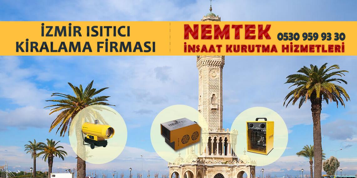 İzmir Isıtıcı Kiralama Firması