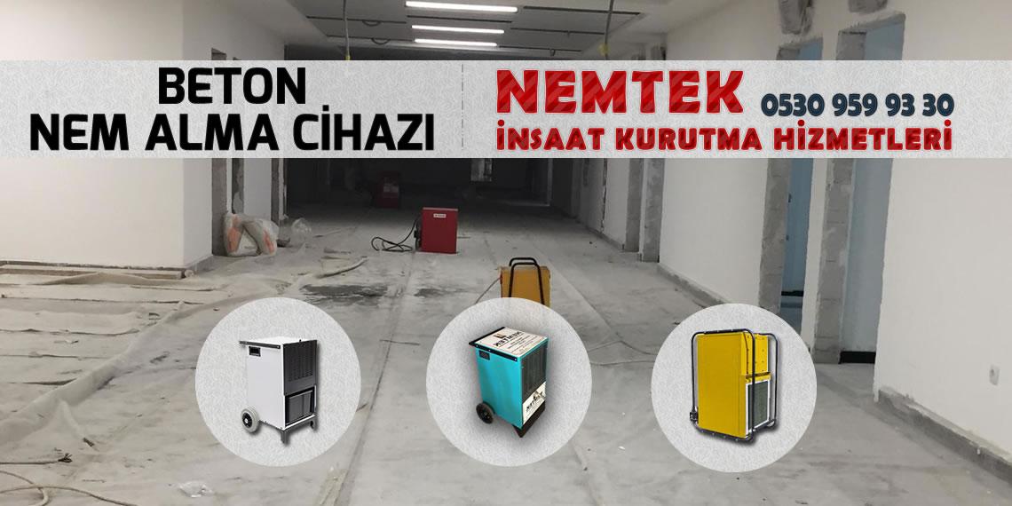 Beton Nem Alma Cihazı