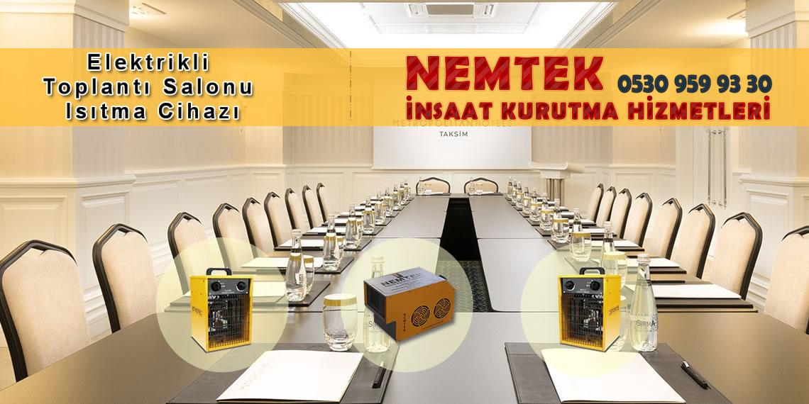Elektrikli Toplantı Salonu Isıtma Cihazı